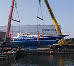 Завершен грандиозный рефит парусной яхты Jongert 32DS - Tamer II  на  верфи Jongert Shipyard